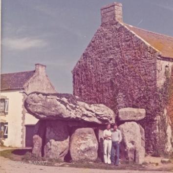 The famous dolmen de Crucuno